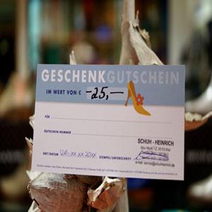 SchuhWerk-Gutschein im Wert von 25 €