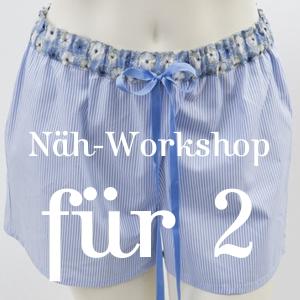 Näh-Workshop für 2 Personen:Nähen Sie sich Ihr eigenes NachtwäscheLieblingsstück